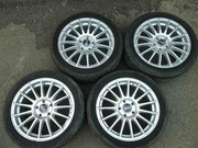 Диски OZ Racing R17 5x112 Superturismo LM, б/у, Golf, Audi, VW, Seat