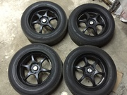 Диски ADVAN Racing RG-D R16 16X7JJ 5x114.3 + Dunlop 205/60R16 Lancer X