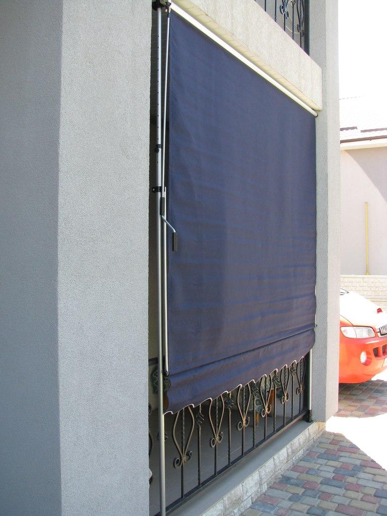 Маркизы навесы на балкон защита от солнца и дождя пр-во швец.